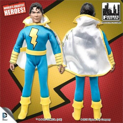 SHAZAM RETRO 8 INCH ACTION FIGURE SHAZAM JR LOOSE IN POLYBAG NEW