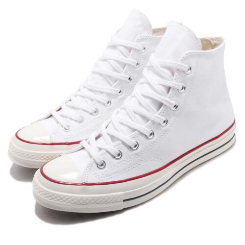 First 70 Taylor String Chuck White Converse Men Women All Star 162056c 1970s Red dCxBeo
