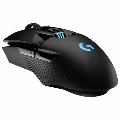 Logitech G903 HERO 16000 DPI Wireless Optical Gaming Mouse - Black (910-005670)