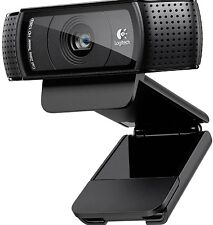 Logitech C920 Pro HD Webcam 1080p Microphone Video Call Skype USB PC RRP £89.99