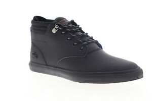 Lacoste-Esparre-Winter-C-319-1-CM-Mens-Black-Leather-Low-Top-Sneakers-Shoes-7