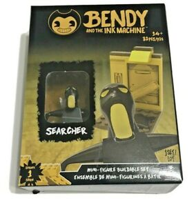 Bendy-and-the-Ink-Machine-Mini-Figure-Buildable-Kits-Searcher-Series-1-New