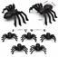 Black-Spider-Realistic-Halloween-Decoration-Halloween-Props-Animal-Black-50pcs thumbnail 11