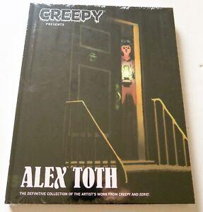 Creepy-Presents-Alex-Toth-Hardcover-NEW-Dark-Horse-Graphic-Novel-Comic-Book