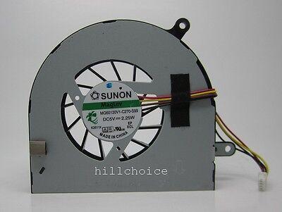 CPU Cooling Fan For Lenovo G770 Series MG60120V1-C140-S99 #M451 QL