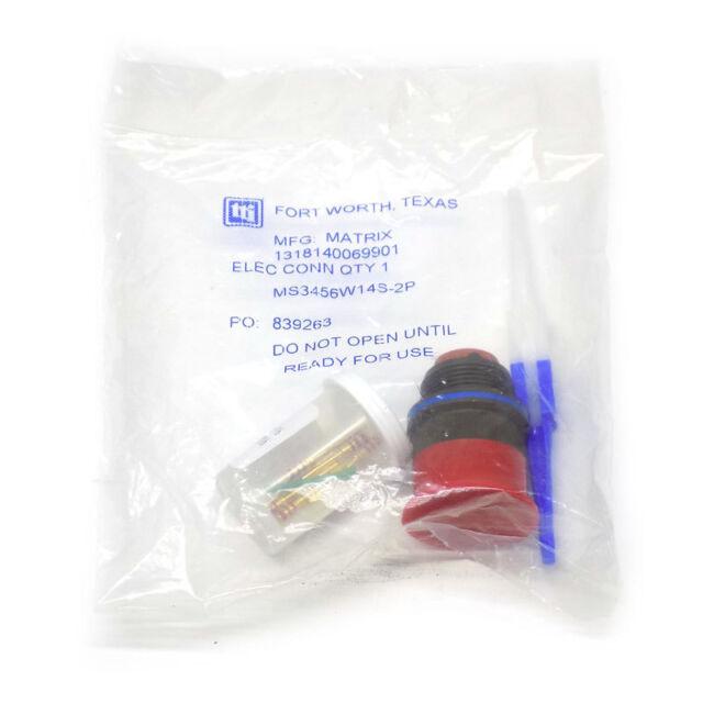 Amphenol Part Number MS3456W14S-6B