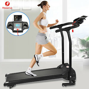 2HP Folding Treadmill Electric Motorized Power 12KM/H Running Fitness Machine
