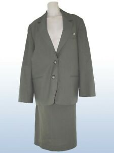 donna-completo-tailleur-verde-lana-vergine-made-italy-taglia-it-42-m-medium