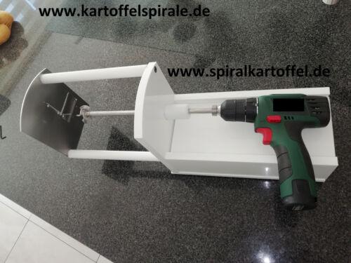 Spiralkartoffel Kartoffelchips-Maker Kartoffel-Twister Spiralschneider Tornado  tN99Z