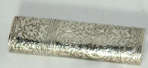 Antique-c1800-039-s-STERLING-SILVER-ETUI-Chatelaine-CASE-VERY-DETAILED-HALLMARKED