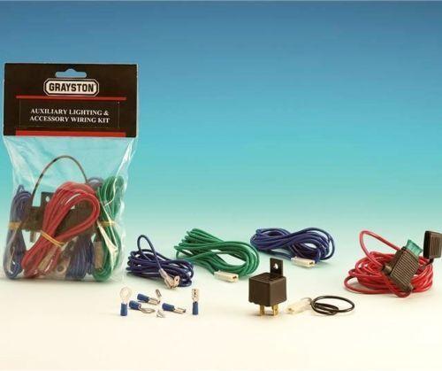 2009 wiring Kit 2001 2007 BMW Mini Black Spot Lights Driving Lamps Brackets