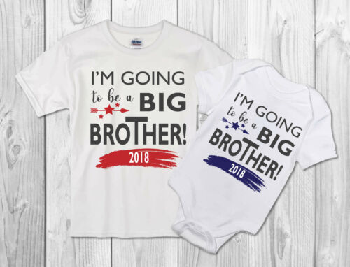 I/'m going to be a Big brother Kids Children T Shirt Announcement Idea T-Shirt