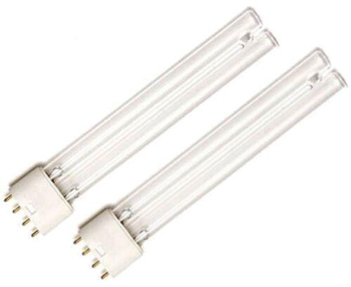 TWIN PACK 2 X 24W PLL UV UVC BULBS BULB ULTRAVIOLET LAMP TUBE KOI FISH POND