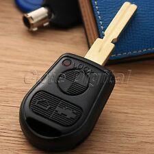 Remote Key Fob Case Shell 3 Button Blade for BMW 3 5 7 Series Z3 E46 E39 E38 E36
