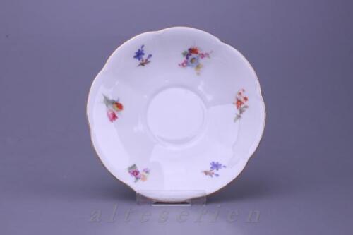 Untertasse für Tee D 14,5 cm Schirnding Bavaria unbekannte Form Streublume