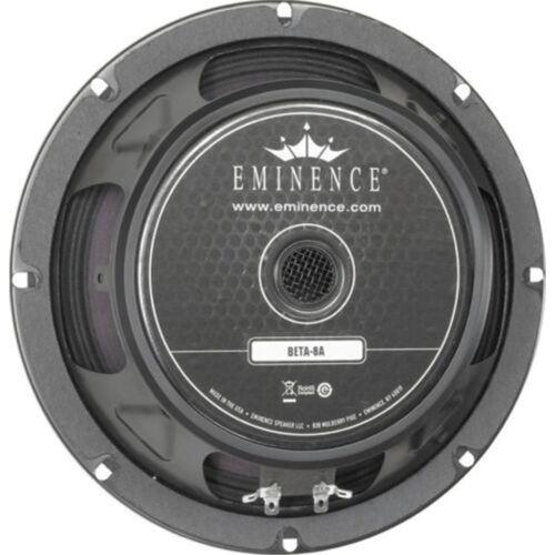 "Eminence Beta-8A 8"" 225 Watt RMS 8 Ohm Mid-Bass Speaker"
