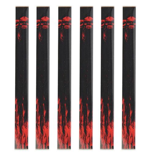 15pcs Arrow Wraps Sticker Heat Shrinkable Archery Shaft DIY Decoration Tool