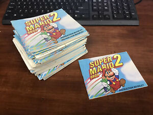 Nintendo-NES-Super-Mario-Bros-2-Instruction-Book-Manual-ONLY