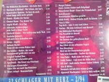 Folcloristiche Parade 2/94 32 schalger con cuore Marianne & Michael Heino 2cd