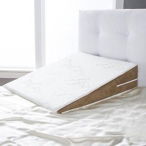 Image Is Loading Avana Slant Bed Wedge Acid Reflux Memory Foam