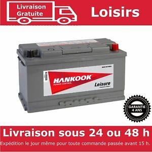 Hankook-XV110-Batterie-Decharge-Lente-Pour-Caravane-et-Camping-Car-12V-110AH