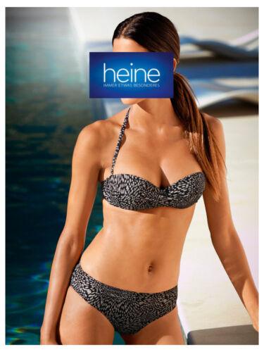 NEU!! KP 79,90 € SALE/%/%/% Heine Softcup-Bikini Cup C Schwarz