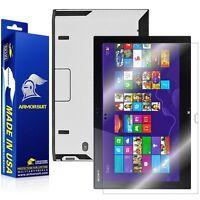 Armorsuit Sony Vaio Duo 13 Convertible Ultrabook Screen Protector + White Carbon