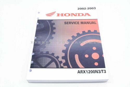 New Service Manual Aquatrax ARX1200 N3  2002-03 OEM Genuine Honda  #a54