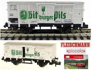 FLEISCHMANN-8362-VINTAGE-CARRO-MERCI-BURGER-PILS-BIER-TRASPORTO-BIRRA-SCALA-N