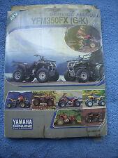 1994-1998 YAMAHA ATV YFM350 FX (84-85) SERVICE MANUAL LIT-11616-YX-35