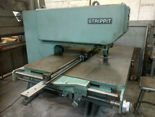 Strippit Super 3030 Single End Punch With Tool Cabinet And Notching Unit