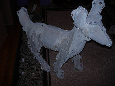 "CMC ALUMINUM CONCRETE/CEMENT DEER MOLD #357  31"" TALL (USED)"