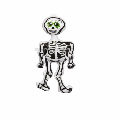 Halloween Inflatable Skeleton Blow Up Toy Spooky Scary Party Fun Decoration