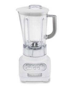 kitchenaid white 5 speed blender ksb560wh unbreakable jar poly