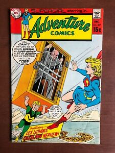 Adventure-Comics-387-1969-7-0-FN-DC-Key-Issue-Silver-Age-Comic-Supergirl