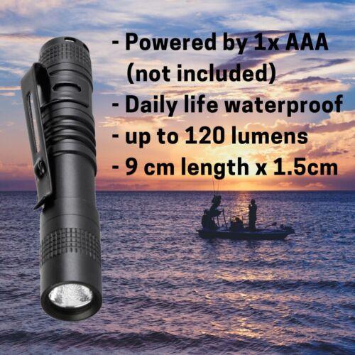 Mini Portable CREE XPE-R3 LED Flashlight Medical Pen light Torch 1*AAA Battery