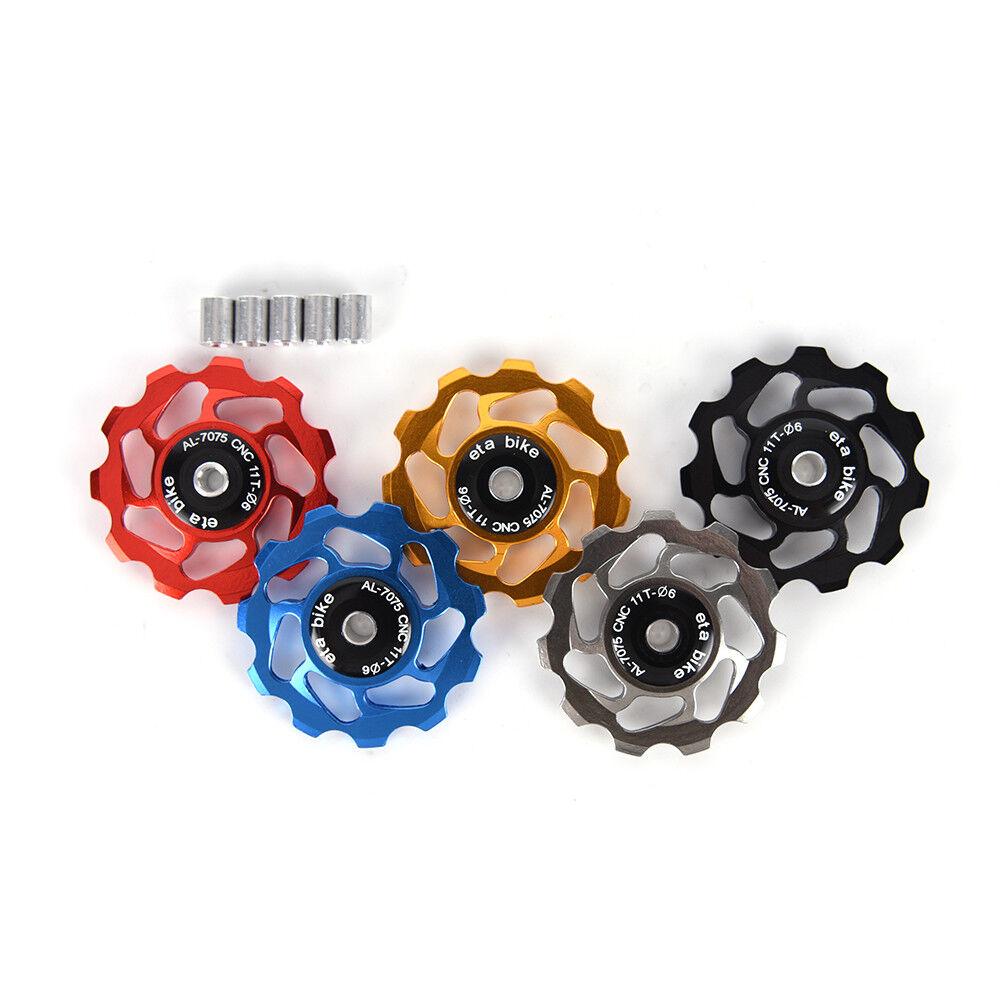 11T ceramic bearing jockey wheel pulley bike road bike rear derailleur TSHV