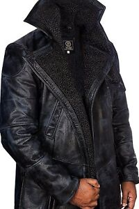 Faux Tutte misure Shearling K le Ryan 2049 Ufficiale Runner Blade Gosling Leather Jacket 6xqfwYUWC