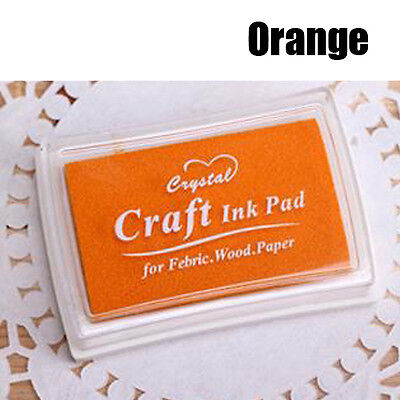 Child Wedding Oil Based DIY Ink Pad Rubber Stamps Fabric Wood Paper Guest Book