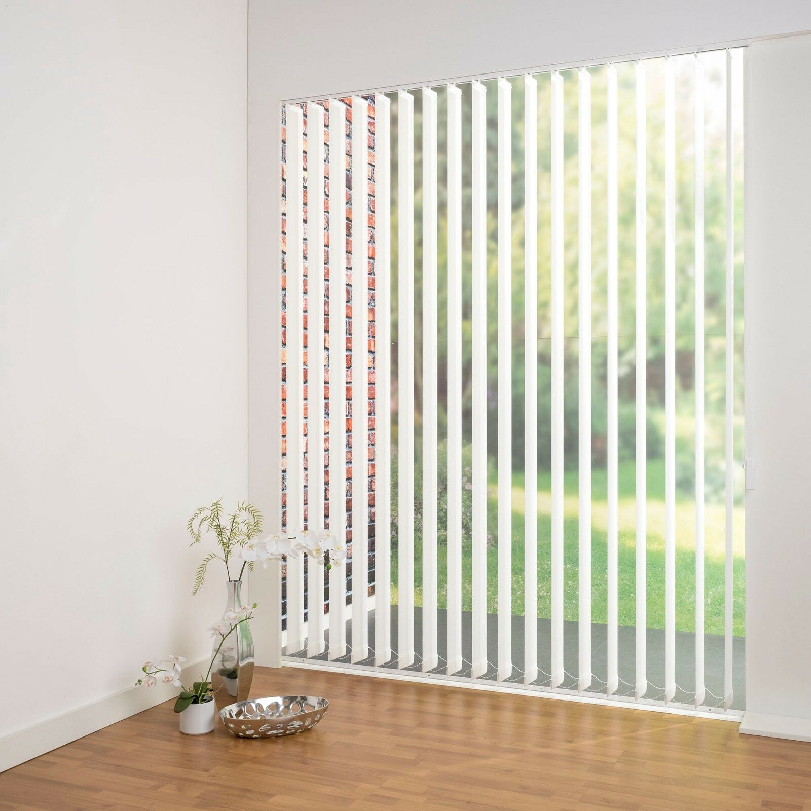 Lamellenvorhang Grünikalanlage Lamelle 89, 127 127 127 mm -  Länge kürzbar - weiss weiß   Ausgezeichnet (in) Qualität  a10b87