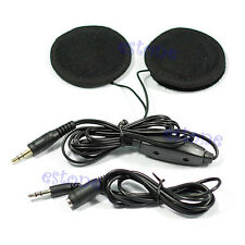 Motorcycle Helmet Speakers Stereo for MP3 CD iPod Radio