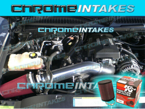 NEW 99-06 GMC SIERRA 1500 2500 3500 V8 COLD AIR INTAKE KIT+K/&N