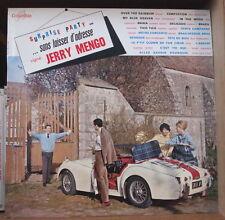 JERRY MENGO SURPRISE PARTY SANS LAISSER D'ADRESSE CAR COVER ORIG FRENCH LP