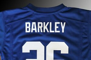76ee50311cefd Boys (Kids) Nike New York Giants Saquon Barkley Royal Blue Game ...