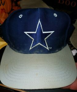 cd2d5148979f7f Dallas Cowboys Hat Vintage Snapback Cap 90's NFL Football the game ...