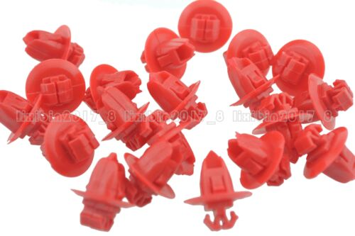 10x Wheel Flare Push-Type Bumper Fender Retainer Clips For Toyota Tacoma Tundra