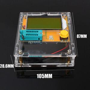 Transistor-Tester-Diode-Triode-Capacitance-ESR-LCR-T-4-Mega-328Meter-MOS-Case