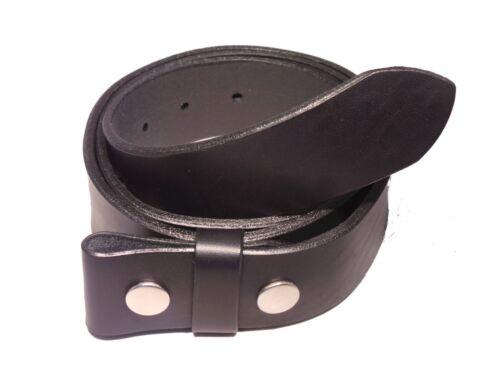 Cintura in Pelle Nera Cinturino 1 1//2 pollici 38 mm Ampio Girovita Da Uomo Donna Pieno Fiore
