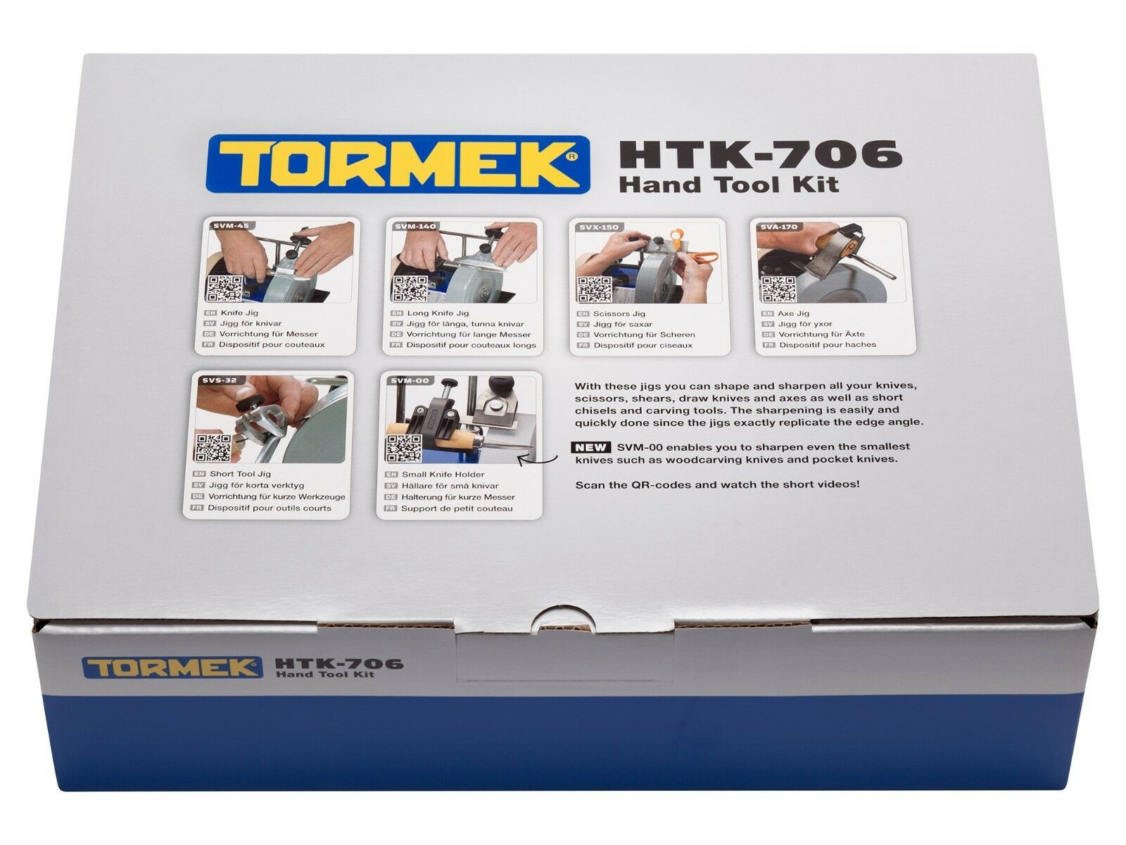 TORMEK HTK-706 HandTool Jigs Kit - Now Includes SVM-00 - Brand New