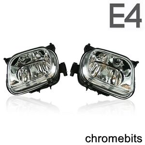 CRYSTAL CLEAR FOG LIGHTS FOR MERCEDES E CLASS W210 SLK R170 CLK W208 V2